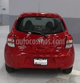 Foto venta Auto usado Nissan March Sense  (2013) color Rojo precio $105,000