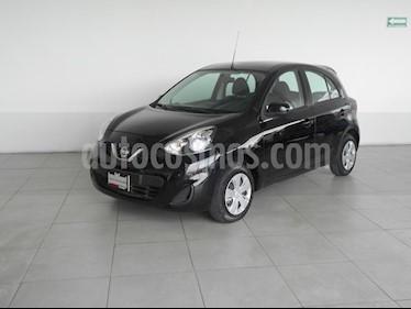 Foto venta Auto Seminuevo Nissan March Sense (2014) color Negro precio $148,000