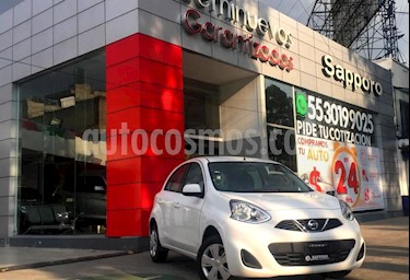 Foto venta Auto Seminuevo Nissan March Sense (2017) color Blanco precio $165,000