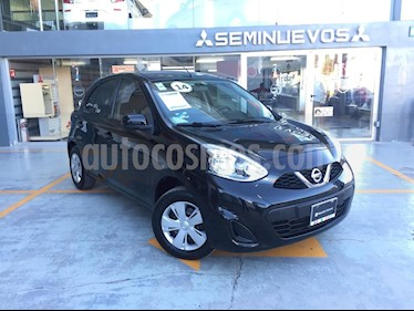 Foto venta Auto Seminuevo Nissan March Sense (2014) color Negro precio $120,000