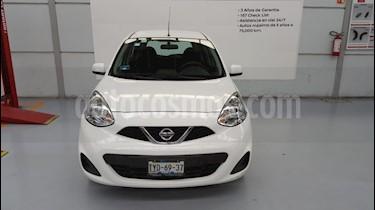 Foto venta Auto Seminuevo Nissan March Sense (2014) color Blanco precio $119,000