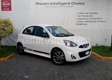 Foto venta Auto Seminuevo Nissan March SR NAVI (2018) color Blanco precio $214,000