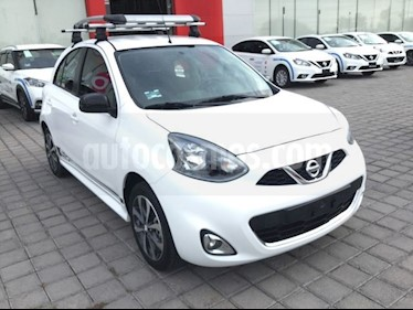 Foto venta Auto Seminuevo Nissan March SR NAVI (2018) color Blanco precio $215,000