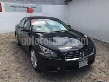 Foto venta Auto Seminuevo Nissan Maxima 3.5 SR (2014) color Negro precio $243,000