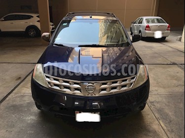 Foto venta Auto usado Nissan Murano LE 3.5L 4x4 (2007) color Azul Oscuro precio $10,800