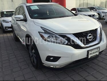 Foto venta Auto usado Nissan Murano MURANO EXCLUSIVE CVT AWD (2019) color Blanco precio $669,567