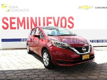 Foto venta Auto Seminuevo Nissan Note Note Sense Aut (2017) color Rojo precio $195,000