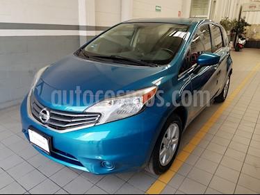 Foto venta Auto Seminuevo Nissan Note Note Sense Aut (2015) color Azul precio $163,000