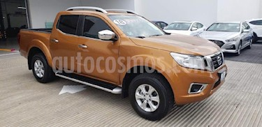 Foto venta Auto Seminuevo Nissan NP300 Frontier LE A/A (2018) color Naranja precio $355,000