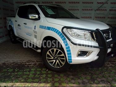 Foto venta Auto Seminuevo Nissan NP300 Frontier LE Diesel 4x4 A/A Aut (2018) color Blanco precio $545,000