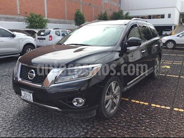 Foto Nissan Pathfinder 3.5 EXCLUSIVE AT 5P 7 Plazas usado (2015) color Negro precio $340,000