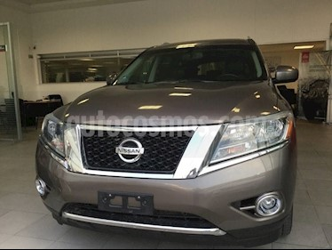 Foto venta Auto Seminuevo Nissan Pathfinder 3.5 EXCLUSIVE AT 5P 7 Plazas (2014) color Arena precio $328,000