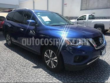 Foto venta Auto Seminuevo Nissan Pathfinder Advance (2017) color Azul precio $499,000