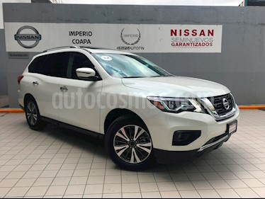 Foto venta Auto Seminuevo Nissan Pathfinder Advance (2017) color Blanco precio $529,000
