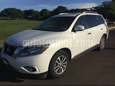 Foto venta Auto Seminuevo Nissan Pathfinder Advance (2014) color Blanco precio $280,000