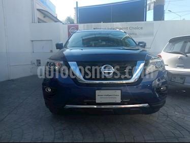 Foto venta Auto usado Nissan Pathfinder Exclusive 4x4 (2017) color Azul Metalico precio $600,000