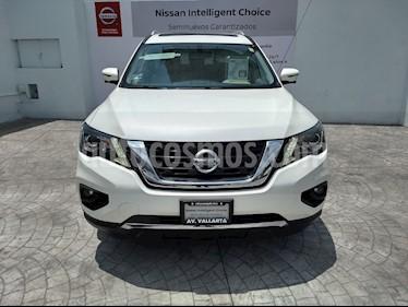 Foto venta Auto usado Nissan Pathfinder Exclusive 4x4 (2017) color Blanco precio $699,000