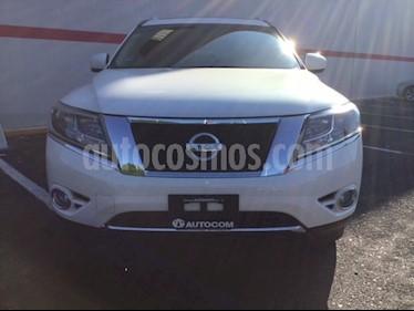 Foto venta Auto Seminuevo Nissan Pathfinder Exclusive 4x4 (2014) color Blanco precio $350,000