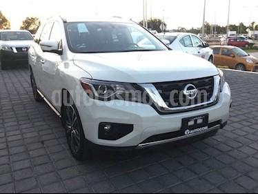 Foto venta Auto Seminuevo Nissan Pathfinder Exclusive 4x4 (2018) color Blanco precio $724,125