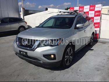 Foto venta Auto Seminuevo Nissan Pathfinder Exclusive 4x4 (2017) color Plata precio $599,000