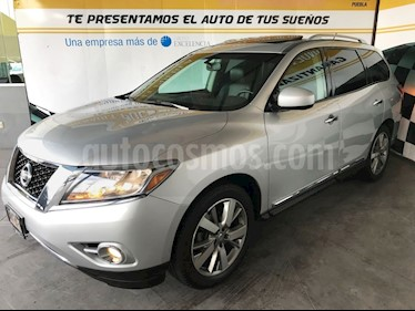 Foto venta Auto Seminuevo Nissan Pathfinder Exclusive (2014) color Plata precio $335,000