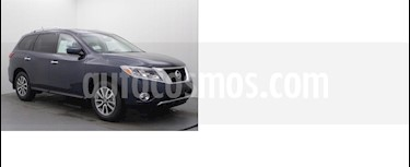 Foto venta Auto Seminuevo Nissan Pathfinder Exclusive (2016) color Gris Oxford precio $438,000
