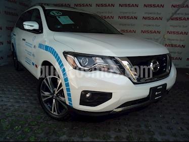 Foto venta Auto Seminuevo Nissan Pathfinder Exclusive (2018) color Blanco precio $700,000