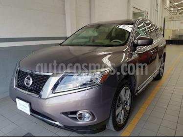 Foto venta Auto Seminuevo Nissan Pathfinder Exclusive (2013) color Cocoa Metalico precio $252,000