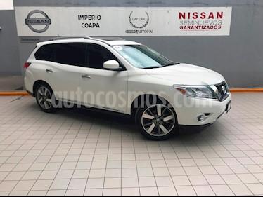 Foto venta Auto Seminuevo Nissan Pathfinder Exclusive (2014) color Blanco precio $355,000