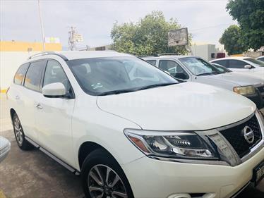 Foto venta Auto usado Nissan Pathfinder Sense (2015) color Blanco precio $350,000