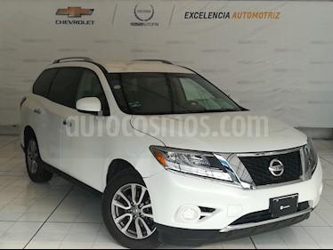 Foto venta Auto Usado Nissan Pathfinder Sense (2014) color Blanco Perla precio $269,000
