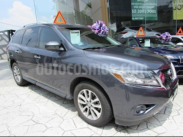 Foto venta Auto Seminuevo Nissan Pathfinder Sense (2014) color Gris precio $269,000