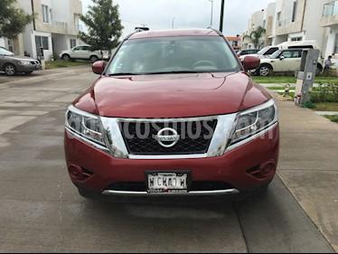 Foto venta Auto usado Nissan Pathfinder Sense (2015) color Rojo precio $275,000