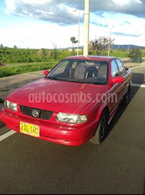Nissan Sentra 16v- usado (1995) color Rojo precio $7.000.000