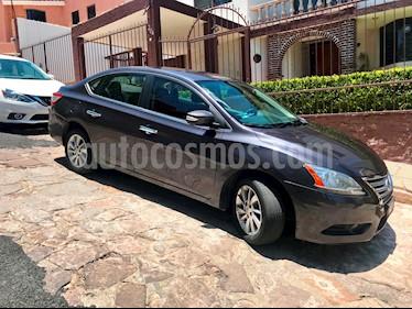 Foto venta Auto usado Nissan Sentra Advance Aut (2016) color Acero precio $193,000