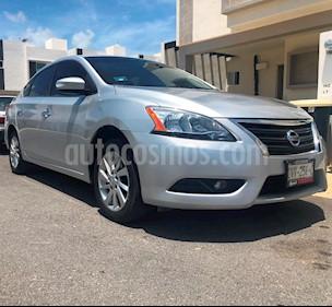 Foto venta Auto usado Nissan Sentra Advance Aut (2016) color Plata precio $180,000