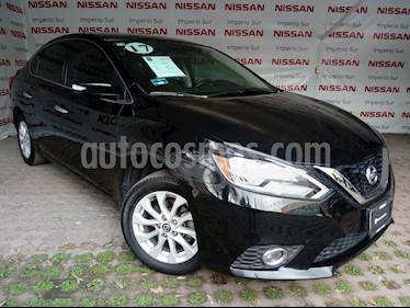 Foto venta Auto Seminuevo Nissan Sentra Advance Aut (2017) color Negro precio $245,000