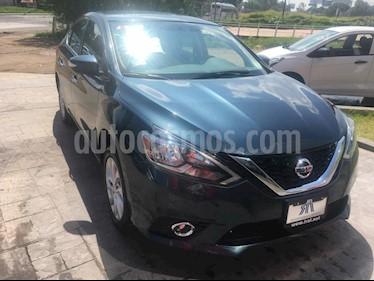 Foto venta Auto Seminuevo Nissan Sentra Advance Aut (2017) color Azul precio $275,000