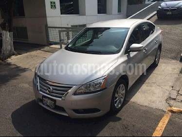 Foto venta Auto Seminuevo Nissan Sentra Advance Aut (2016) color Plata precio $195,000