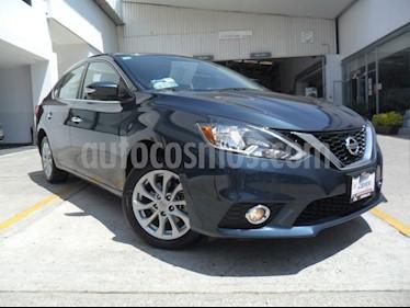 Foto venta Auto Seminuevo Nissan Sentra Advance Aut (2017) color Azul Marino precio $220,000
