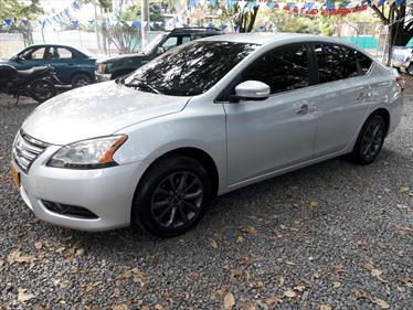 Foto venta Carro usado Nissan Sentra Advance (2014) color Plata precio $48.000.000