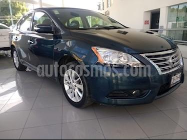 Foto venta Auto Seminuevo Nissan Sentra Advance (2017) color Azul Oriental precio $230,000