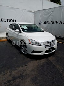 Foto venta Auto Usado Nissan Sentra Advance (2015) color Blanco Perla precio $160,000