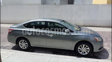 Foto venta Auto Usado Nissan Sentra Advance (2013) color Gris Oxford precio $162,000