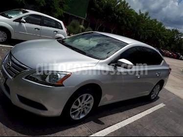 Foto venta Auto Seminuevo Nissan Sentra Advance (2015) color Plata precio $165,000