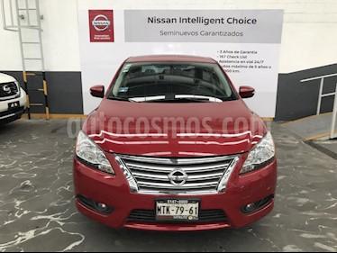 Foto venta Auto Seminuevo Nissan Sentra Advance (2015) color Rojo precio $189,900