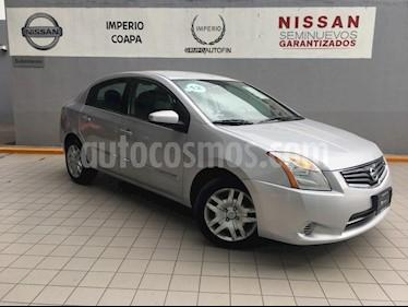 Foto venta Auto Seminuevo Nissan Sentra Custom CVT Xtronic (2012) color Plata precio $130,000