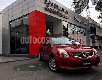 Foto venta Auto Seminuevo Nissan Sentra Custom (2012) color Rojo precio $135,000