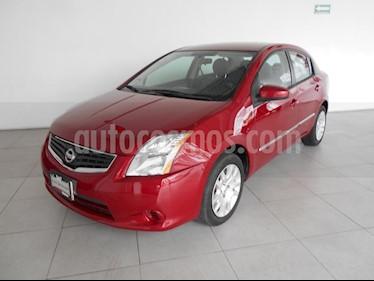 Foto venta Auto Seminuevo Nissan Sentra Custom (2012) color Rojo precio $138,000