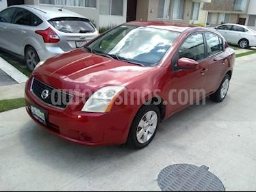 Foto venta Auto Seminuevo Nissan Sentra Custom (2009) color Rojo precio $88,000